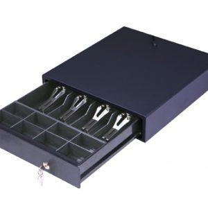 Cajón Portamonedas HS 330C (335x368x80). Apertura automática RJ11