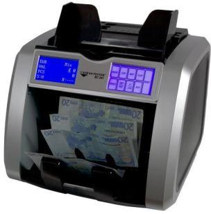 Contadora de billetes Cash Tester BC-241 SD (también máquinas detectoras de billetes falsos)