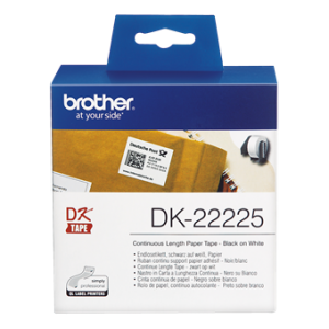Cinta continua papel termico 38mmx30metros Brother DK22225