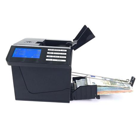 Contadora de billetes Detectalia CUBE (también máquinas detectoras de billetes falsos)