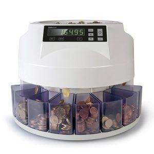 Contadora clasificadora de monedas Safescan 1250