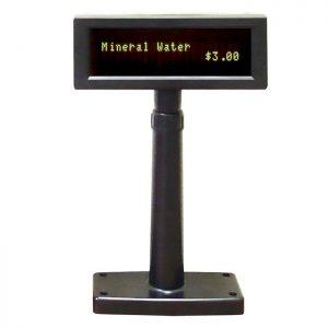 Visor TPV de cliente, VFD 850. Conexión serie o USB, color negro