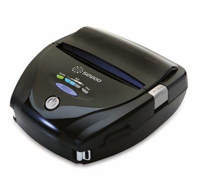 Impresoras de tickets y etiquetas portátil, SEWOO LK-P41 DT, USB + SERIE + Bluetooth o WIFI