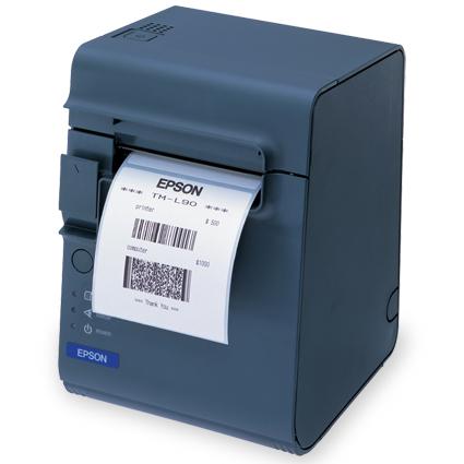 Impresoras de tickets y etiquetas térmica Epson TM-L90. Conexión Serie/Paralelo/USB. Color negro o beige