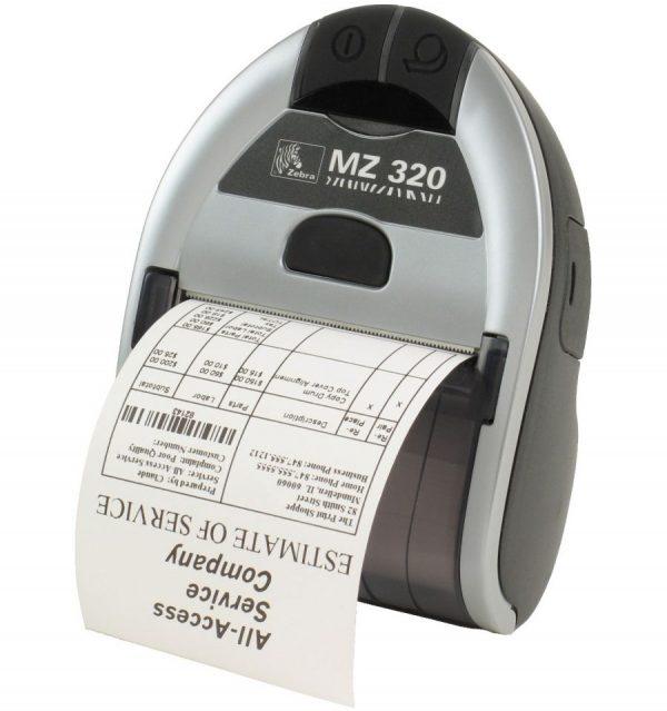 Impresoras de tickets térmica portátil, Zebra iMZ-320. (Compatibles con smartphones y tablets) Conexión USB+Bluetooth o WIFI