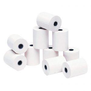 10 Rollos de papel térmico de 57 x 45 mm.