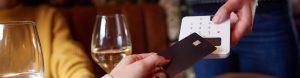 pago con tarjeta en TPV móvil
